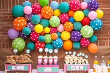 great decoracin para cumpleaos infantiles with decoracion cumpleaos adultos - Cumpleaos Adultos