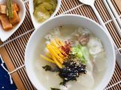 Sopa pastel arroz Tteokguk