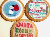 Galletas navidad decoradas papel azúcar
