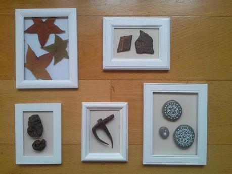 Cuadros hechos con objetos paperblog - Cuadros hechos con piedras ...
