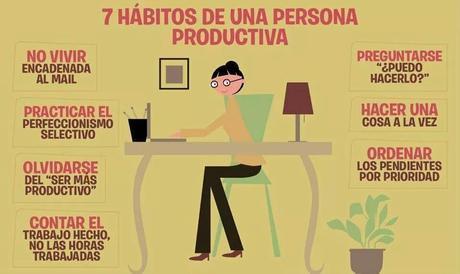 7 hábitos de una persona productiva