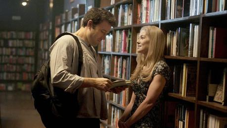 Perdida - Ben Affleck (Nick Dunne) y Rosamund Pike (Amy Dunne)