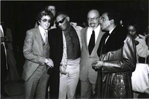 Hall Jerry Greenberg, Ray Charles, Ahmet Ertegun, Milt Jackson