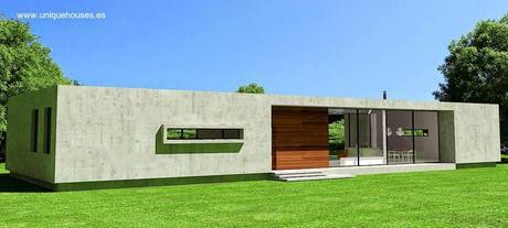 25 modelos de casas modulares paperblog for Viviendas modulares diseno