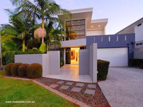 32 im genes de fachadas de casas modernas paperblog for Frentes de casas modernas con piedras