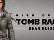Detallado equipamiento Lara Rise Tomb Raider