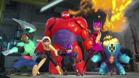 Big Hero 6 equipo