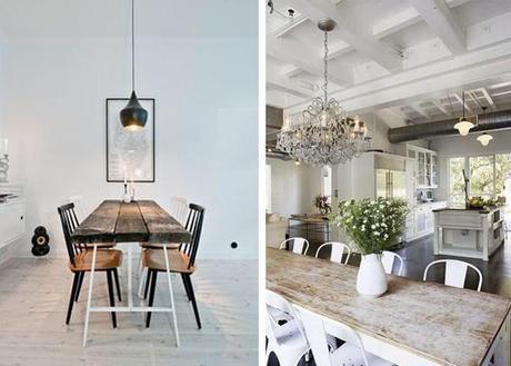 Mesas de comedor estilo industrial paperblog - Como hacer una mesa estilo industrial ...