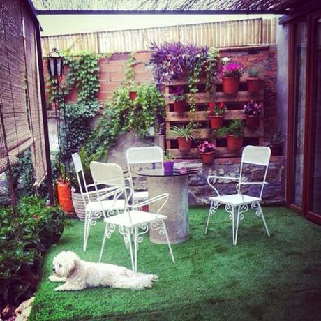 Jardines verticales con elementos recuperados paperblog for Jardines vintage