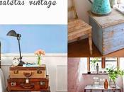Almacenar decorando maletas, cajas baúles vintage