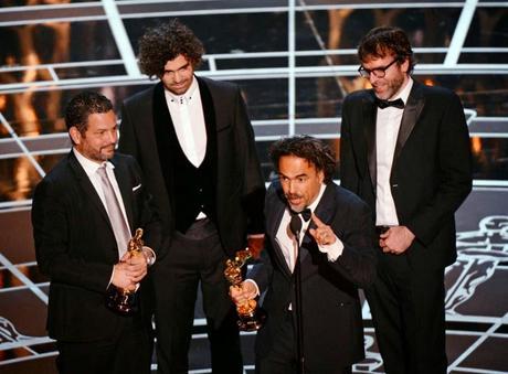 'Birdman' vuela alto y se hace con el Oscar a mejor película