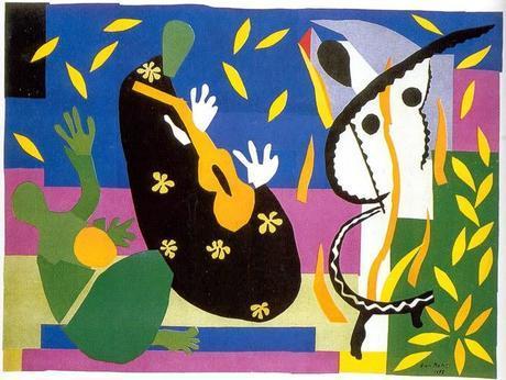 Posters de Matisse para colorear, I
