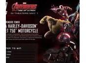Nuevas imágenes promocionales Vengadores: Ultrón gracias Harley Davidson