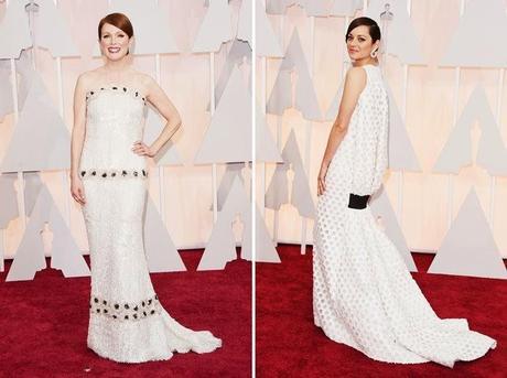 Oscars 2015: Los Modelitos de la Alfombra Roja.