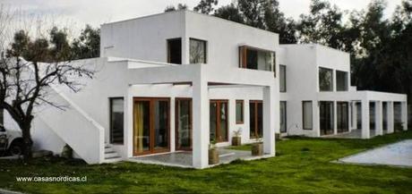 Modelos de casas prefabricadas en chile paperblog - Casas madera nordicas ...