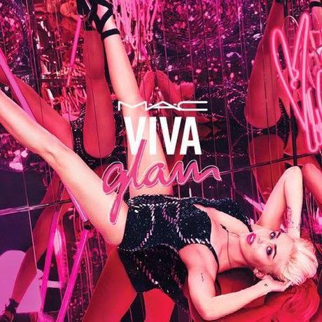 Miley Cyrus, nueva embajadora de Viva Glam de MAC