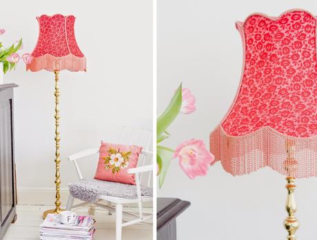 Decorando con l mparas de tulipas de tela diy paperblog - Tulipas de lamparas ...