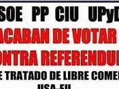 "estado español suman denuncias europeas ""perverso, obscurantista capitalista"" TTIP sólo EQUO PODEMOS censuran."