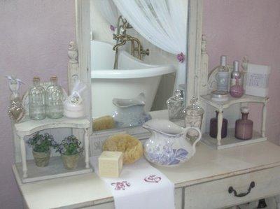 Estilo shabby chic al cuarto de baño - Paperblog