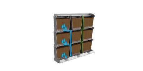 Hazte un jard n vertical con minigarden paperblog for Riego jardin vertical