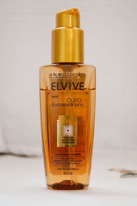 review elvive oleo extraordinario