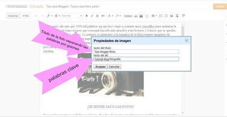 Seo fácil para bloggers Vol.2 - Post colaboración con Frikymama -