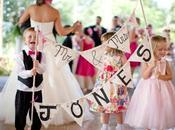 Bodas niños. Ideas boda peques