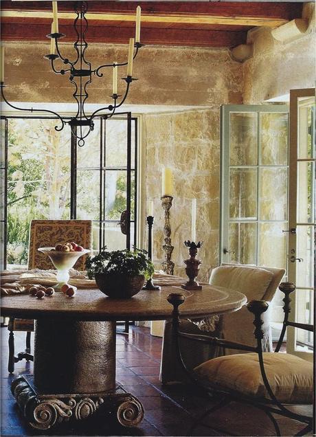 Las claves del estilo toscano paperblog for Estilo de la casa interior