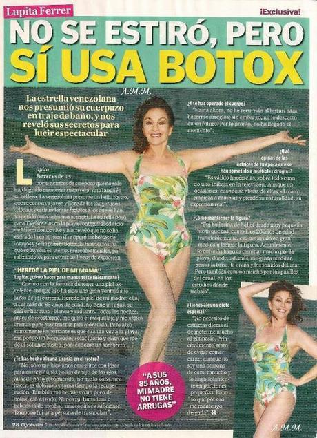 Lupita Ferrer bañador