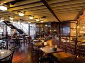 café estilo colonial industrial estación tren, Londres