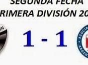 Colón:1 Argentinos Juniors:1 (Fecha