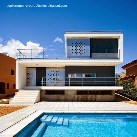 14 dise os de casas modernas en espa a paperblog - Casas modernas madrid ...