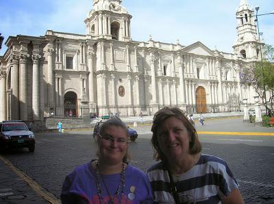 Catedral de Arequipa, Perú, La vuelta al mundo de Asun y Ricardo, round the world, mundoporlibre.com