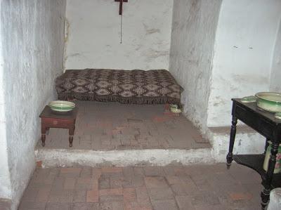 Celda Monasterio de Santa Catalina, Arequipa, Perú, La vuelta al mundo de Asun y Ricardo, round the world, mundoporlibre.com