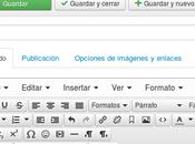 Joomla. límite palabras introducidas editor.