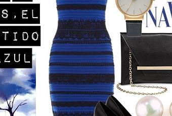 Vestido Azul Y Negro O Blanco Y Dorado Paperblog