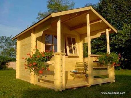 16 modelos de casitas de madera para el jard n paperblog - Casitas de madera infantiles baratas ...