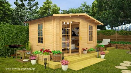16 modelos de casitas de madera para el jard n paperblog for Casitas con jardin