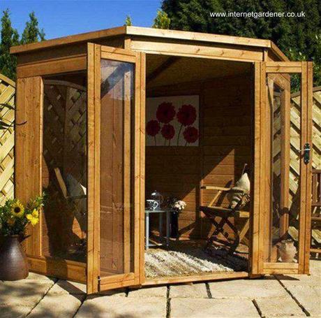 16 modelos de casitas de madera para el jard n paperblog for Galpon de madera para jardin