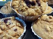 Muffins pera muesli crujiente
