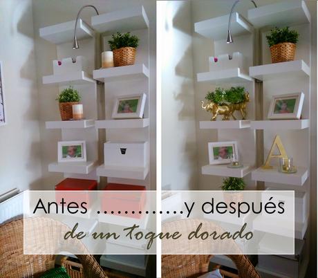 Antes y despu s de un toque dorado diariodeco12 paperblog - Decoracion de casas antes y despues ...