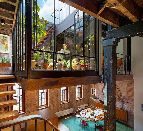 Loft rustico en tribeca paperblog for Loft rustico