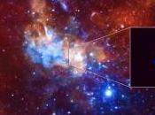 Chandra detecta poderoso destello procedente agujero negro supermasivo Láctea