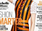 Michelle Williams viste Louis Vuitton para ELLE