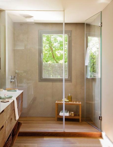 Baño Muy Pequeno Ducha:Banos Modernos 1 Ducha Con Cromoterapia Para Baños Modernos Pictures