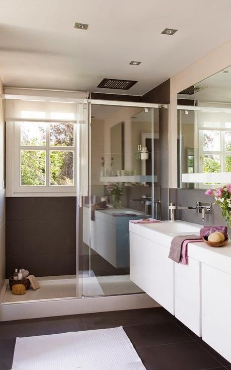 Baño De Visita Con Ducha:Banos Modernos 1 Ducha Con Cromoterapia Para Baños Modernos Pictures
