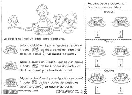 Asombroso Fracción De Segundo Grado Hoja De Trabajo Ideas - hojas ...