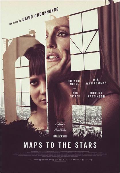 Maps to the Stars. La meca del cine, fábrica de pesadillas