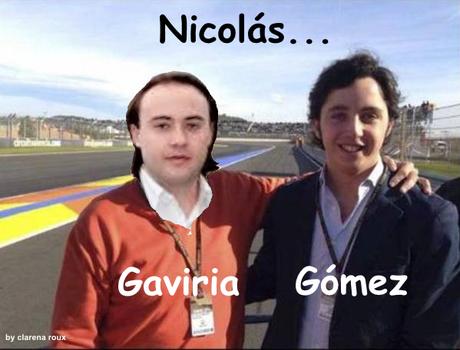Los #Nicolás de España y Colombia, gemelos?