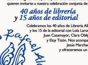 Páginas Espuma celebra años